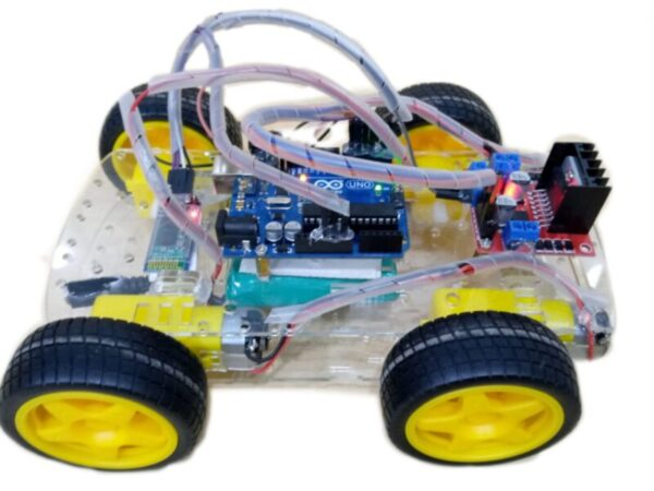 bluetooth controlled arduino car