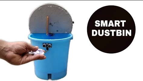 How to make a Smart dustbin using Arduino