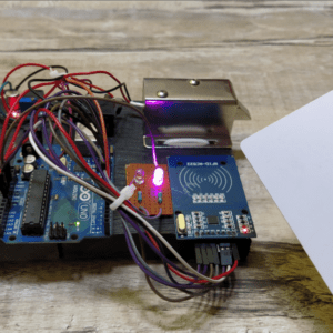 RFID Solenoid Lock engineering project