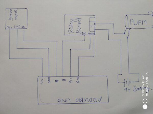 smarft irrigation system circuit diagram