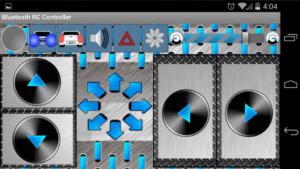 Bluetooth rc car app
