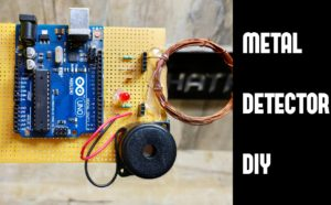 DIY Metal Detector using Arduino step by step