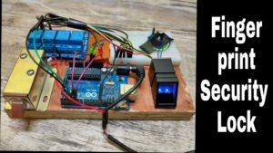 Fingerprint Arduino Security Lock DIY