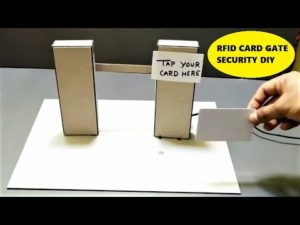 How to make RFID Arduino door security system