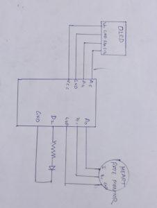 heart rate monitor circuit diagram