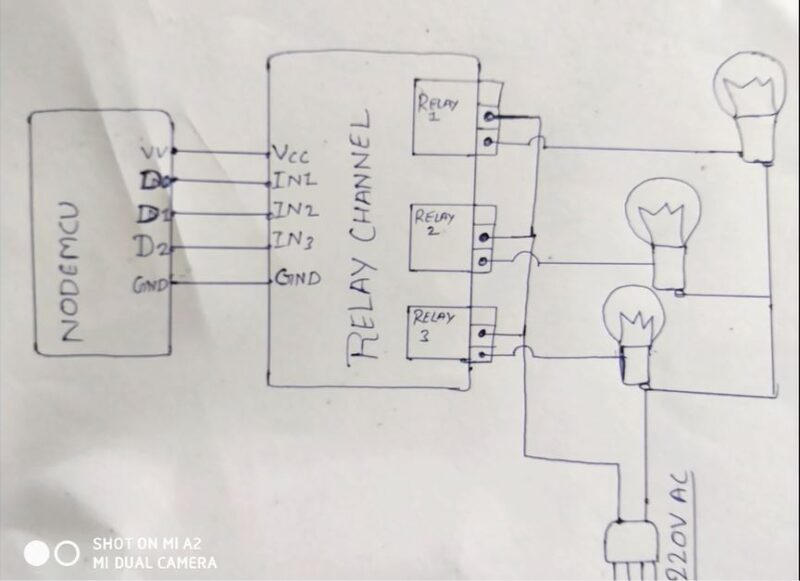 home automation system circuit diagram