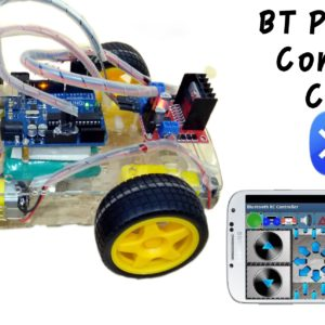 BT Phone control car (Android control)