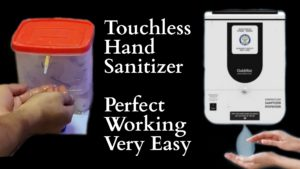 How to make automatic hand sanitizer using arduino