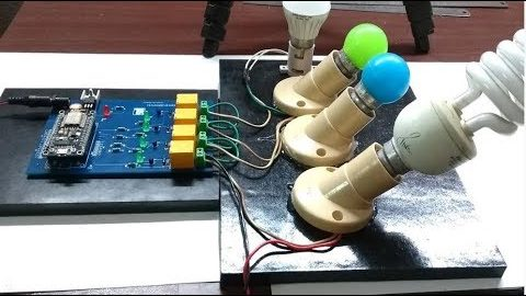 Home automation system using iot