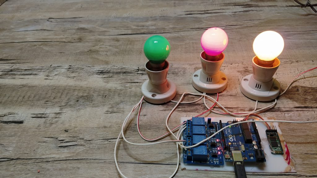 bluetooth home automation using arduino