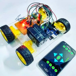 Android Control Robot