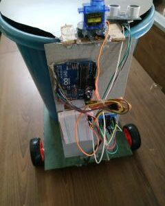 Android Control Smart Dustbin