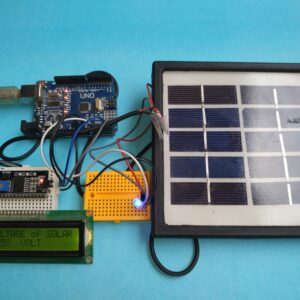 Solar Charger with Voltage Monitoring System