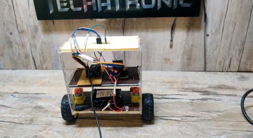 how to make self balancing robot