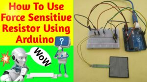 force sensor Arduino Interface tutorial