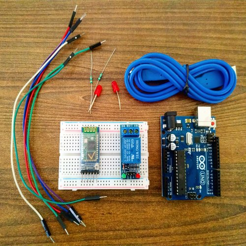 Home autoomation using arduino and bluetooth