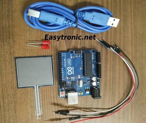 force sensor Arduino components