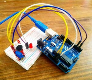 sound sensor with arduino