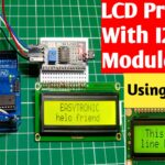 LCD Interfacing with Arduino using I2C