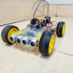 Obstacle avoiding robot using Arduino- Two sensor