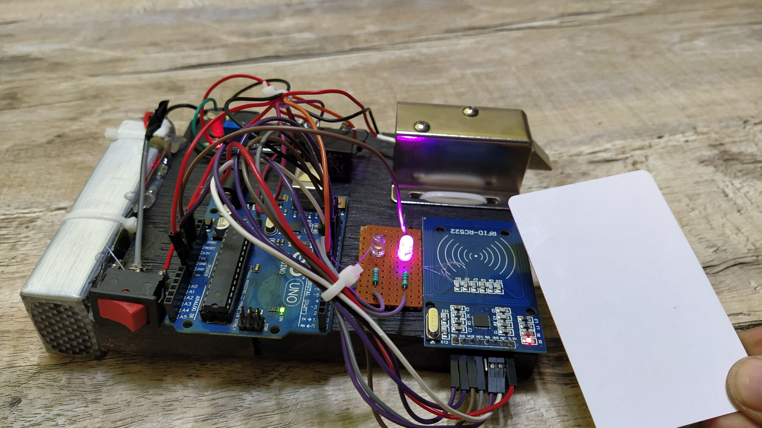 Arduino RFID project