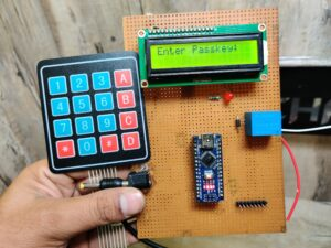 Password based door lock system using Arduino with Keypad