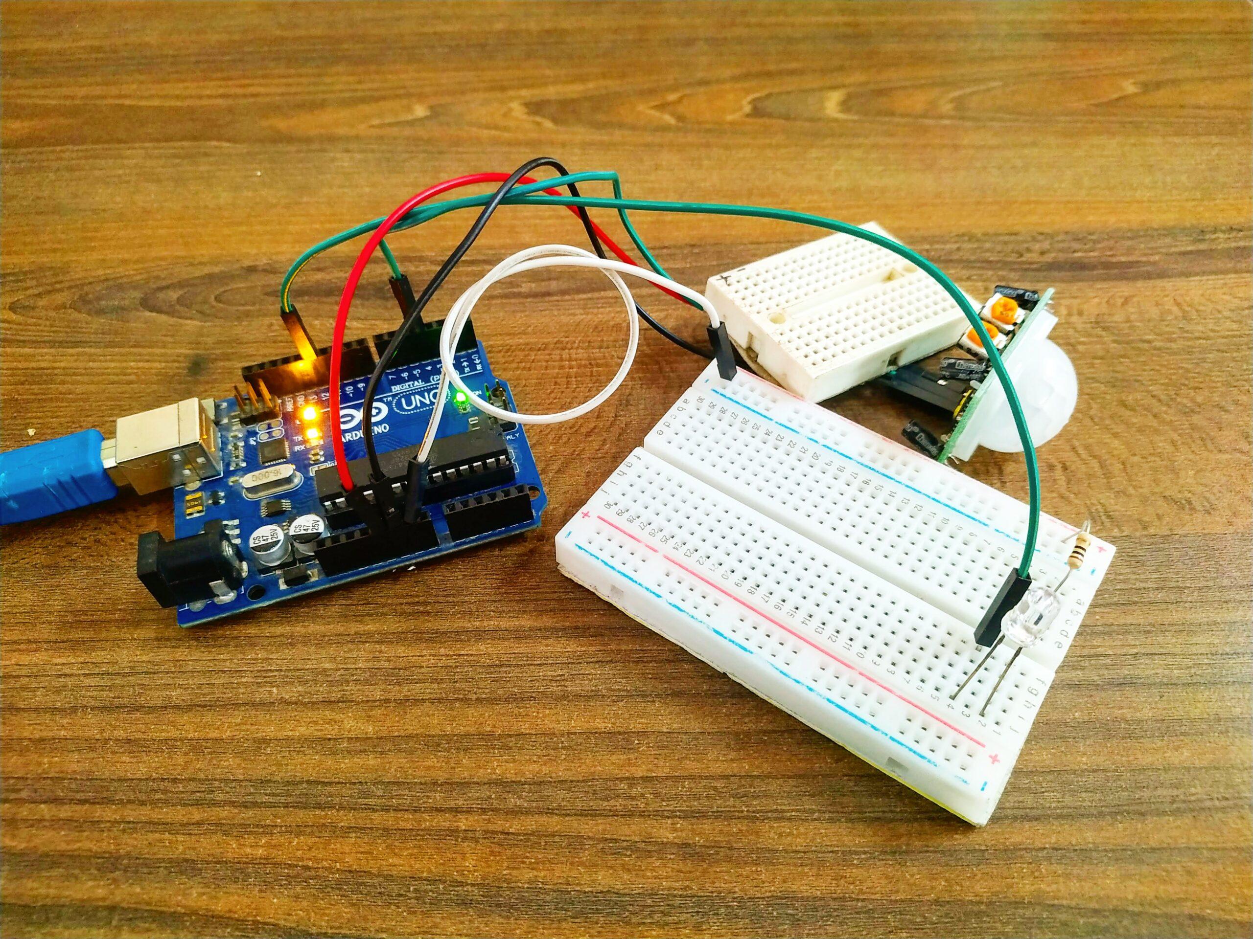 Arduino With PIR Sensor