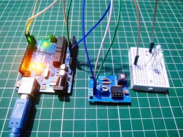 LDR sensor with Arduino