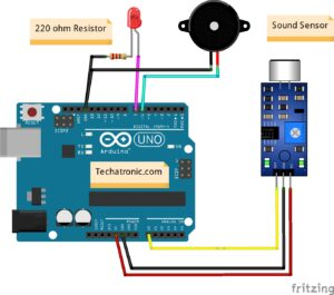 Sound Sensor with Arduino interfacing