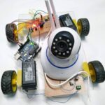 mobile phone control spy robot project