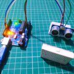 ultrasonic sensor with Arduino Tutorial