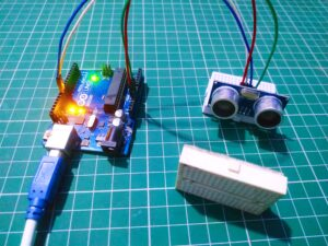 ultrasonic sensor with Arduino Tutorial
