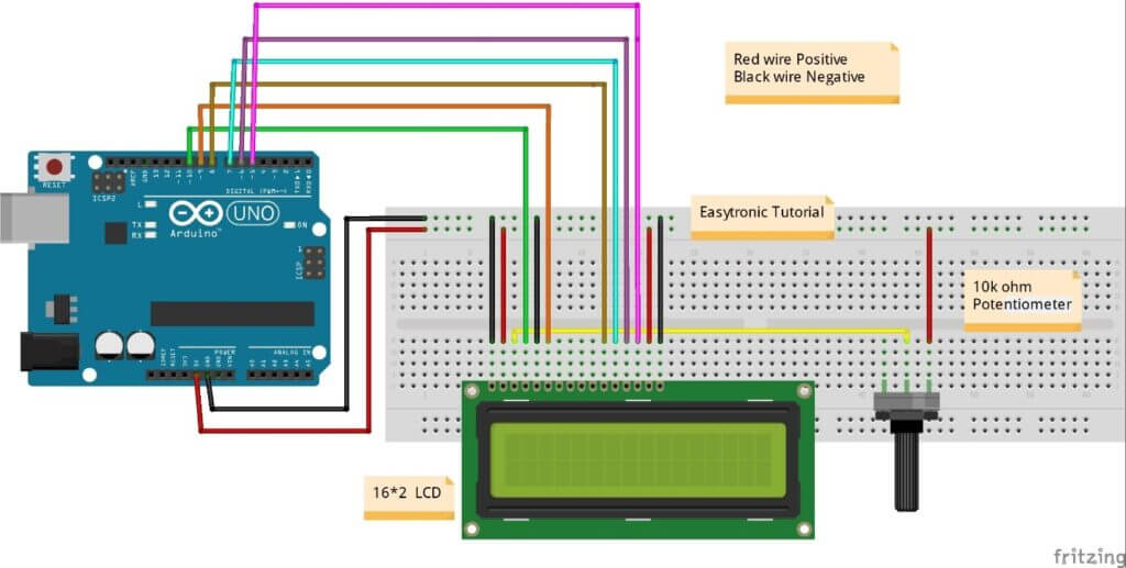 arduino lcd connection