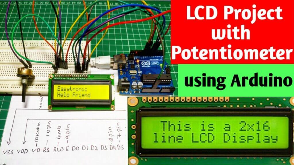 Interface LCD with Arduino