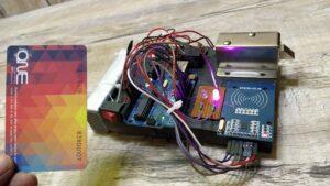 Arduino rfid rc 522 security lock