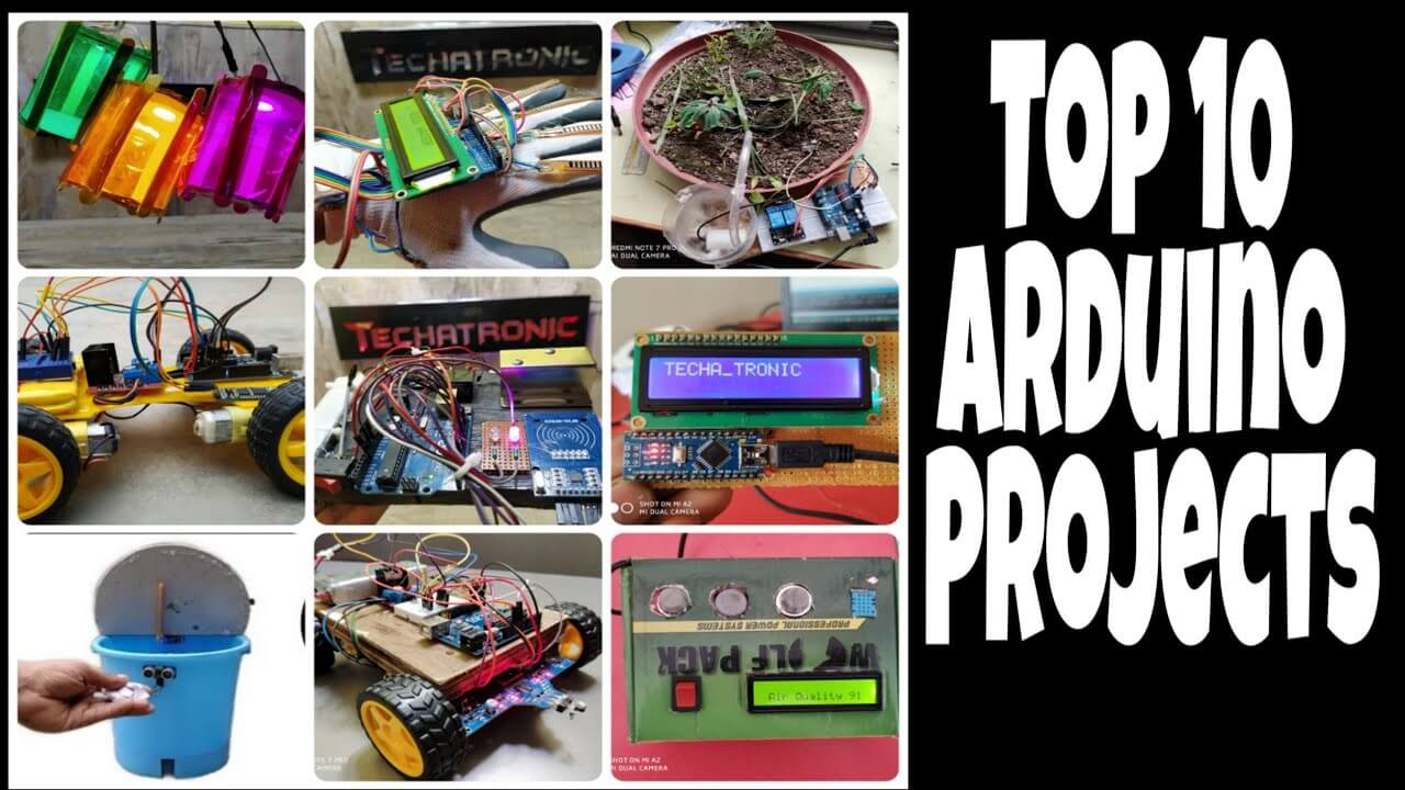 100+ Simple Arduino Project with code and circuit.