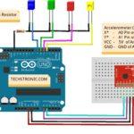 Arduino with Accelerometer Tutorial | Arduino ADXL335
