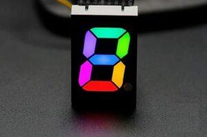 7 segment display arduino