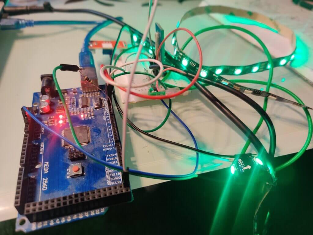 ws2811 arduino