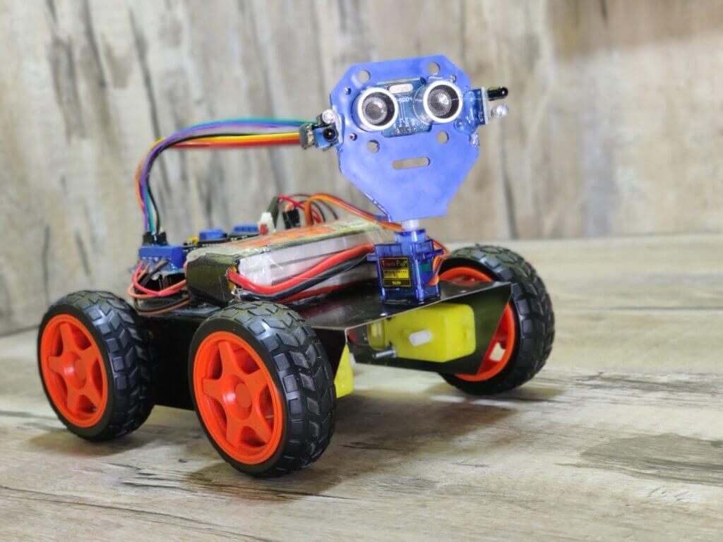 Arduino robot | Human following robot
