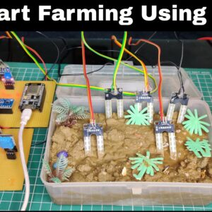 Iot Smart Farming Server based(Thingspeak)