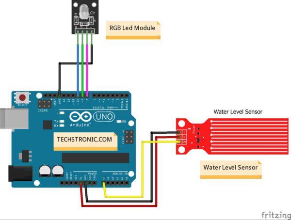 Water Level Sensor with Arduino