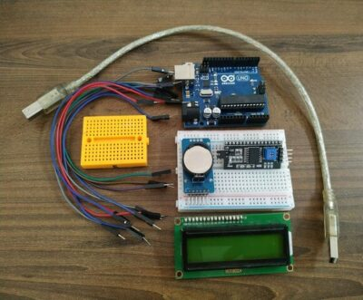 Arduino Digital Clock with DS1307 and LCD Display