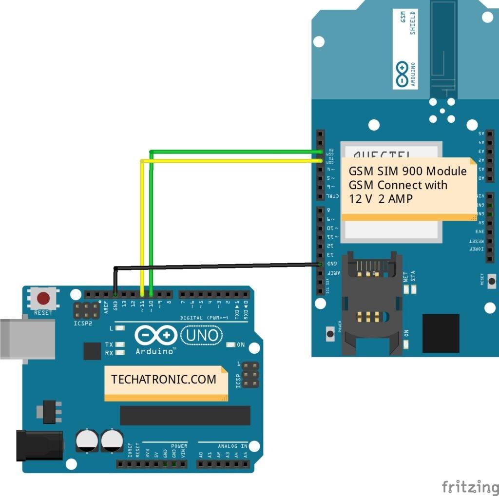 Interfacing GSM Module with Arduino| SIM 900 Module