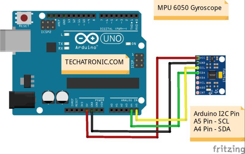 Interfacing MPU6050 Sensor with Arduino