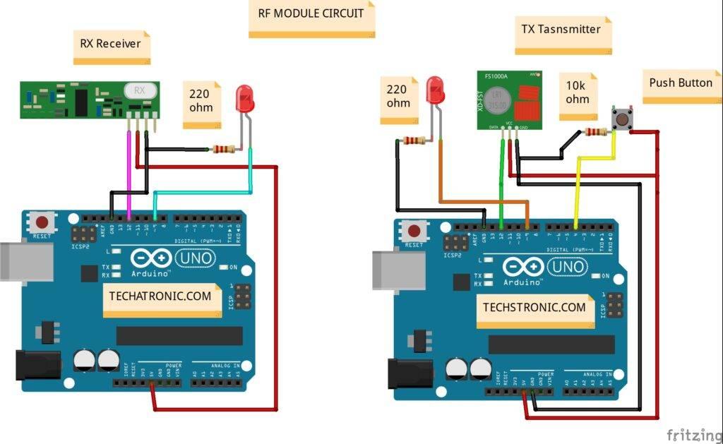 Arduino RF project