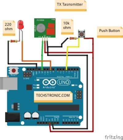 Arduino rf transmitter