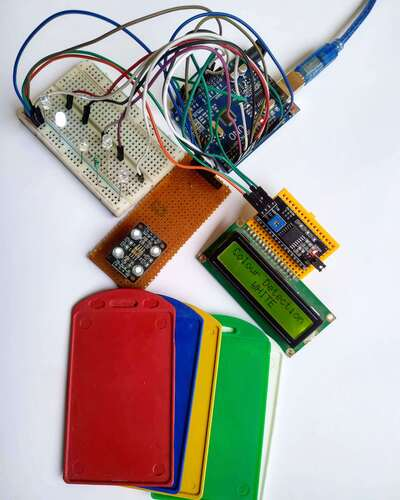 arduino with tcs 230