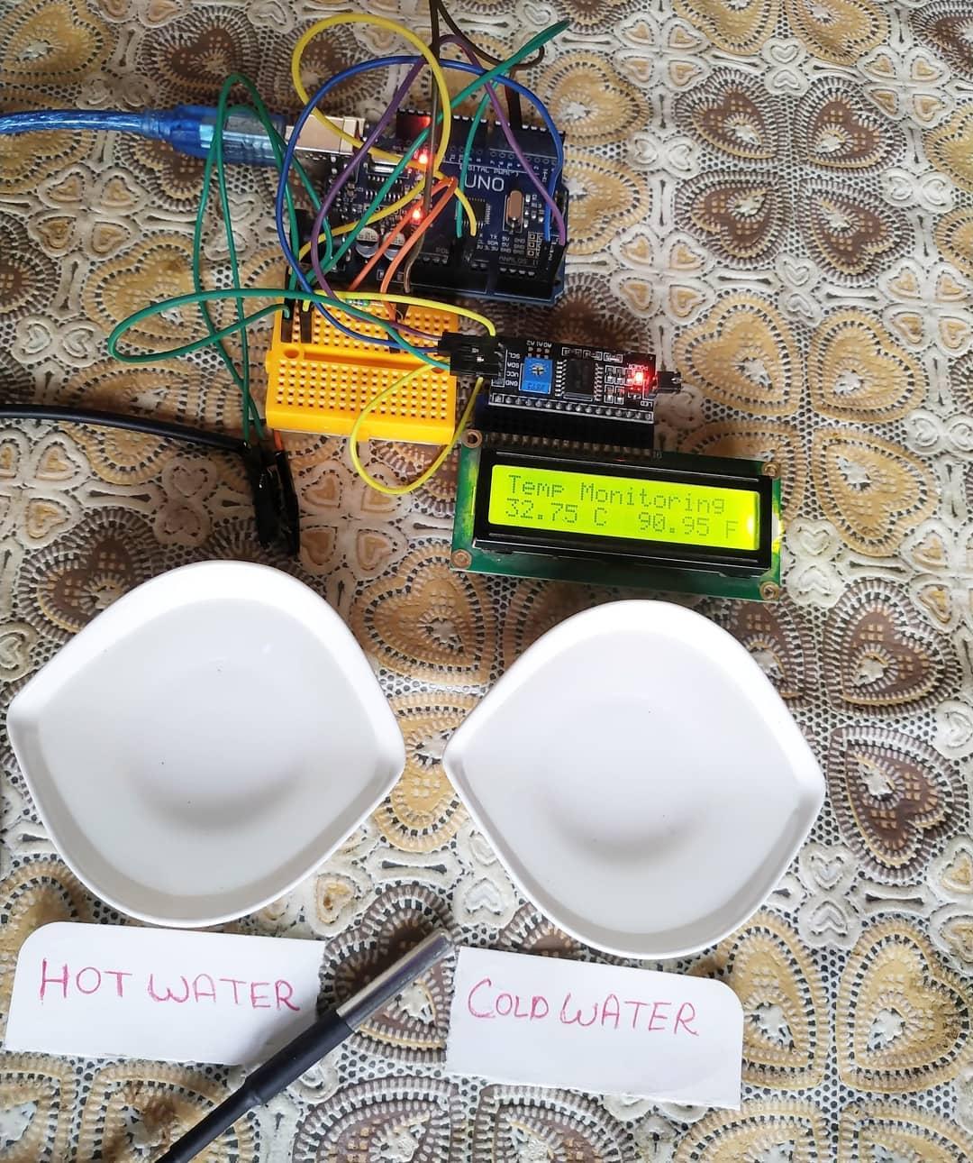arduino temperature monitor