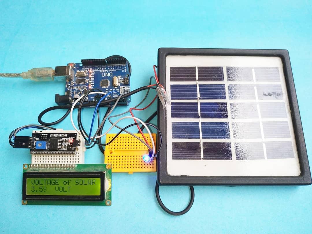 solar panel voltage